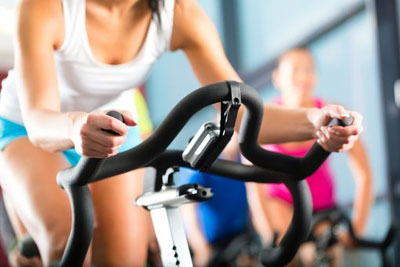 Стандартные упражнения на велотренажере